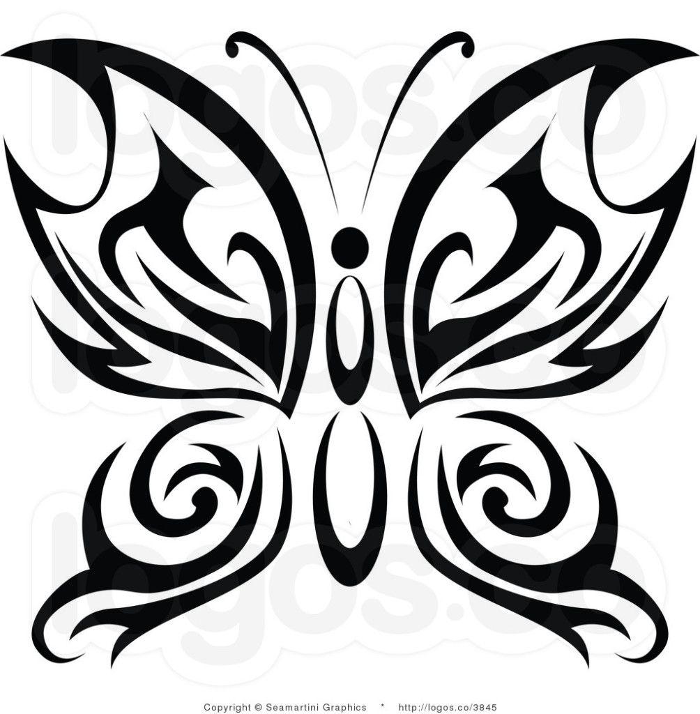1004x1024 Butterfly Tattoo