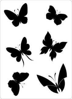 236x324 Of 30 Different Butterfly Designs For Tattoos Stencils And Design