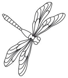 236x268 Dragonfly Embroidery Design Machine Embroidery