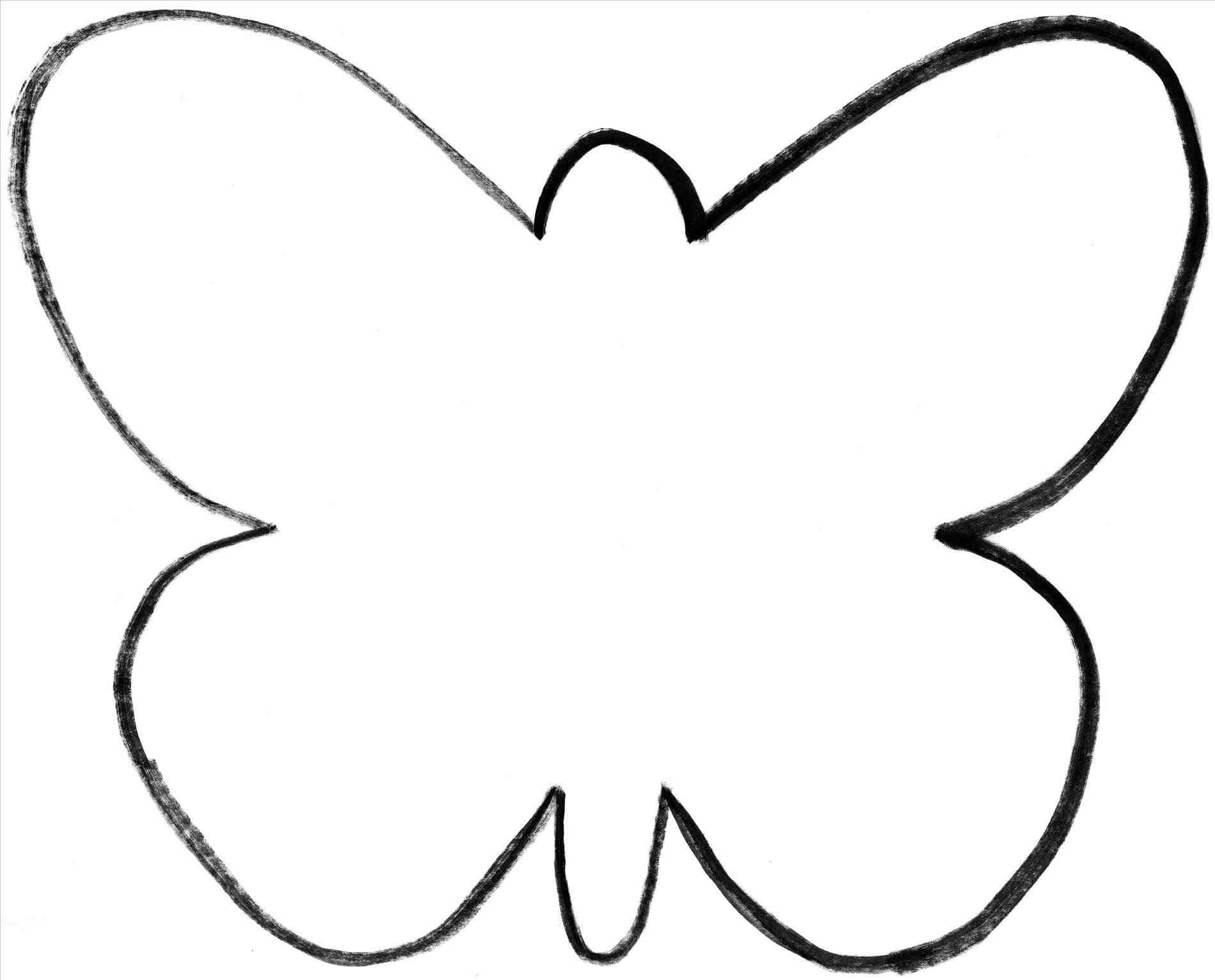 graphic about Butterfly Template Printable identified as Butterfly Silhouette Template at  Cost-free for