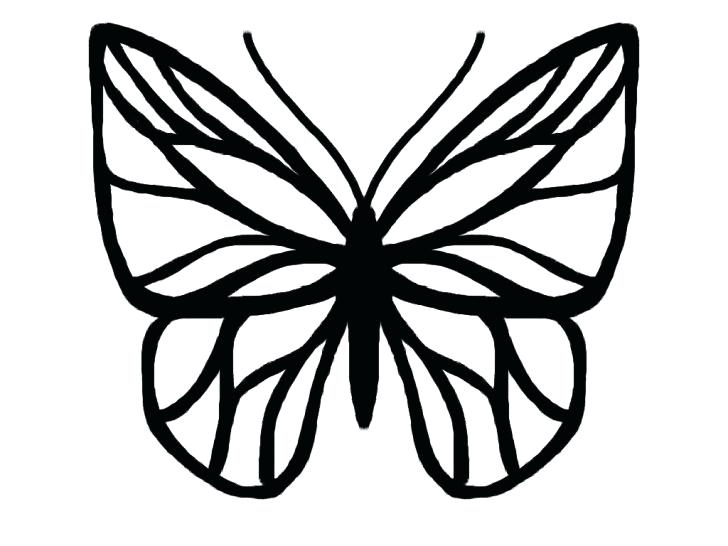 728x546 Small Butterfly Tattoos With Images Black Butterfly Tattoo Small