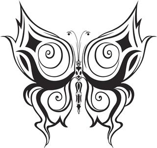 320x300 Butterfly Tattoo Designs That Are More Than Just Beautiful