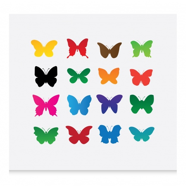 626x626 Butterfly Silhouette Vectors, Photos And Psd Files Free Download