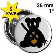 190x190 Ninjabear Button (Silhouette) Buttons Altbears