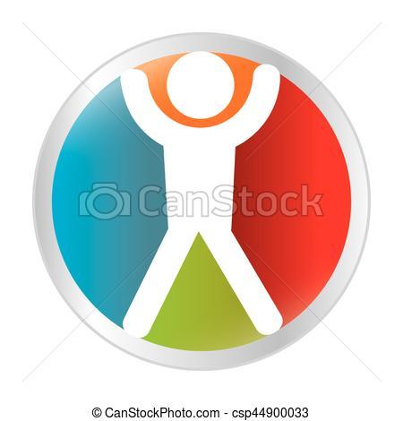 450x470 User Silhouette Button Icon Vector Illustration Design Vectors