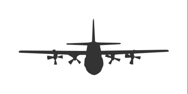 C130 Silhouette
