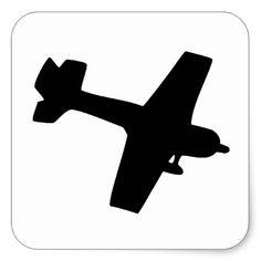 236x236 Airplane Silhouette