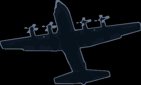 480x291 Airplane Free Vector Svg Vectorstash