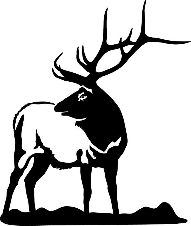 736x872 Hunting Clipart Bull Elk 3623973