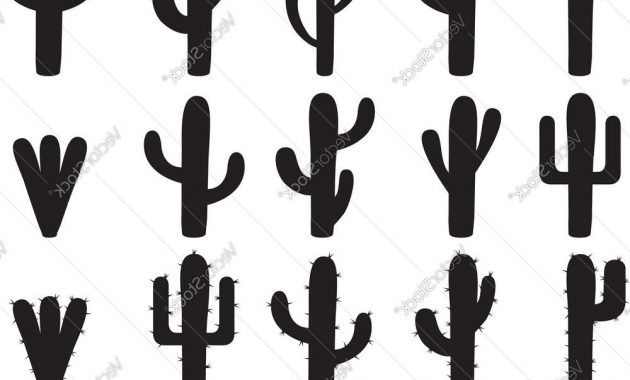 630x380 Cactus Silhouette Vector Archives