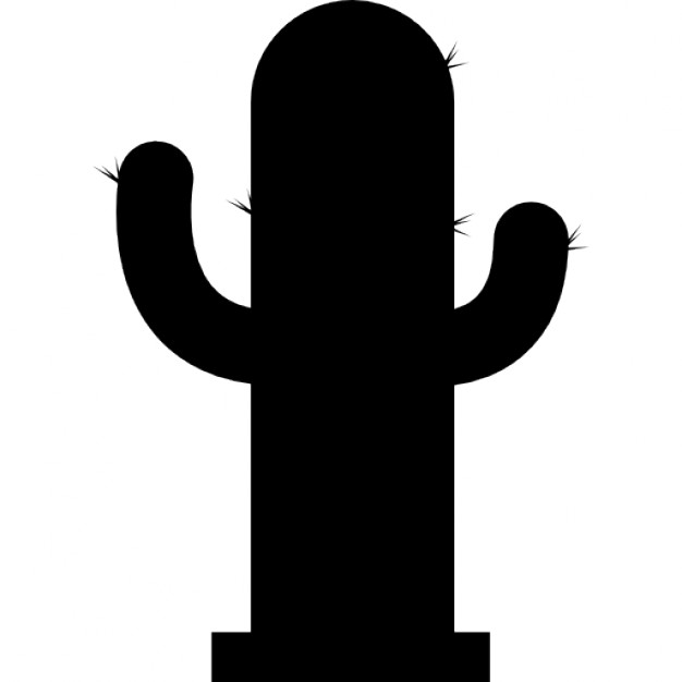 626x626 Cactus Silhouette Icons Free Download