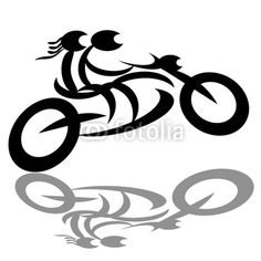 236x236 Set Of Vector Silhouettes Of Different Motorcycles. Shapes