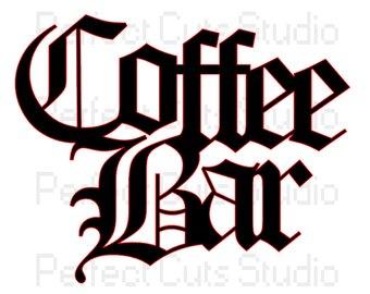 340x270 Cafe Stencil Etsy