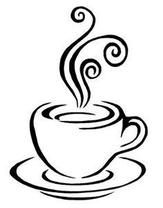236x301 Drawn Coffee Silhouette Png