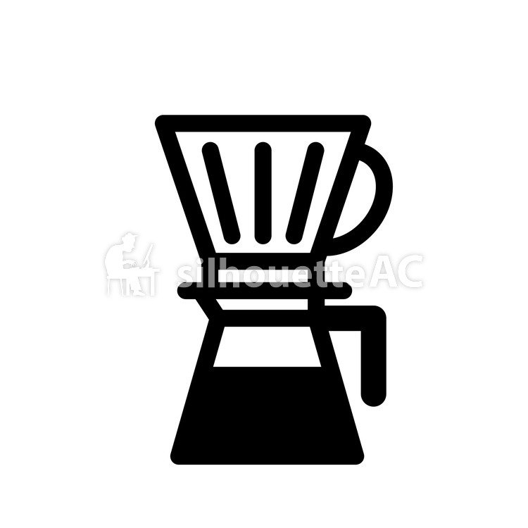 750x750 Free Silhouette Vector Cafe, Coffee, Drink