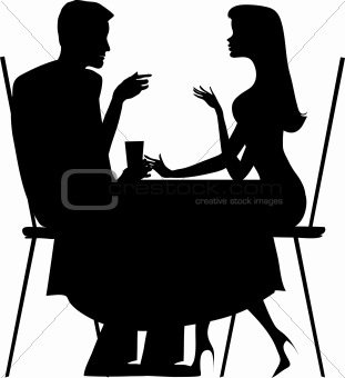 311x340 Image 1525923 Silhouette Os Couple From Crestock Stock Photos
