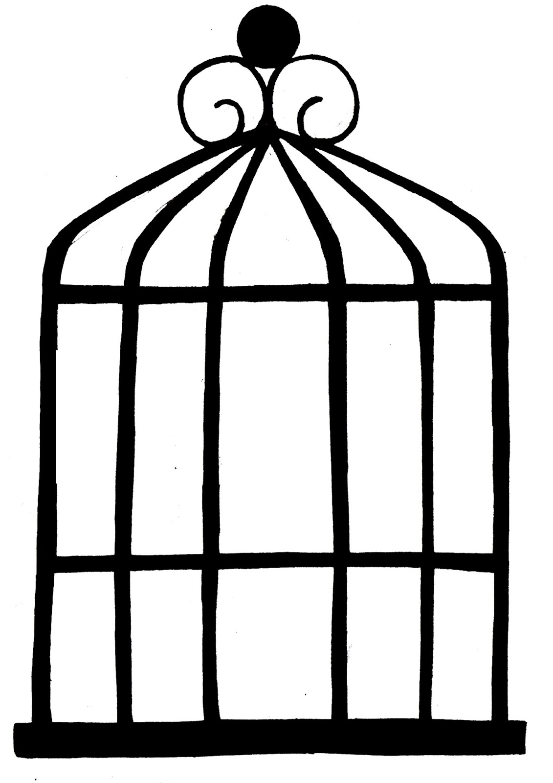 1131x1600 Annabelshungee Birdcage Drawings Birthday Party Ideas