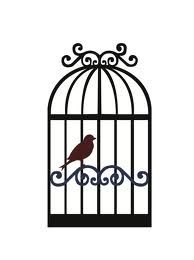 194x260 Bird Cage Silhouette Design, Bird Cages And Silhouette