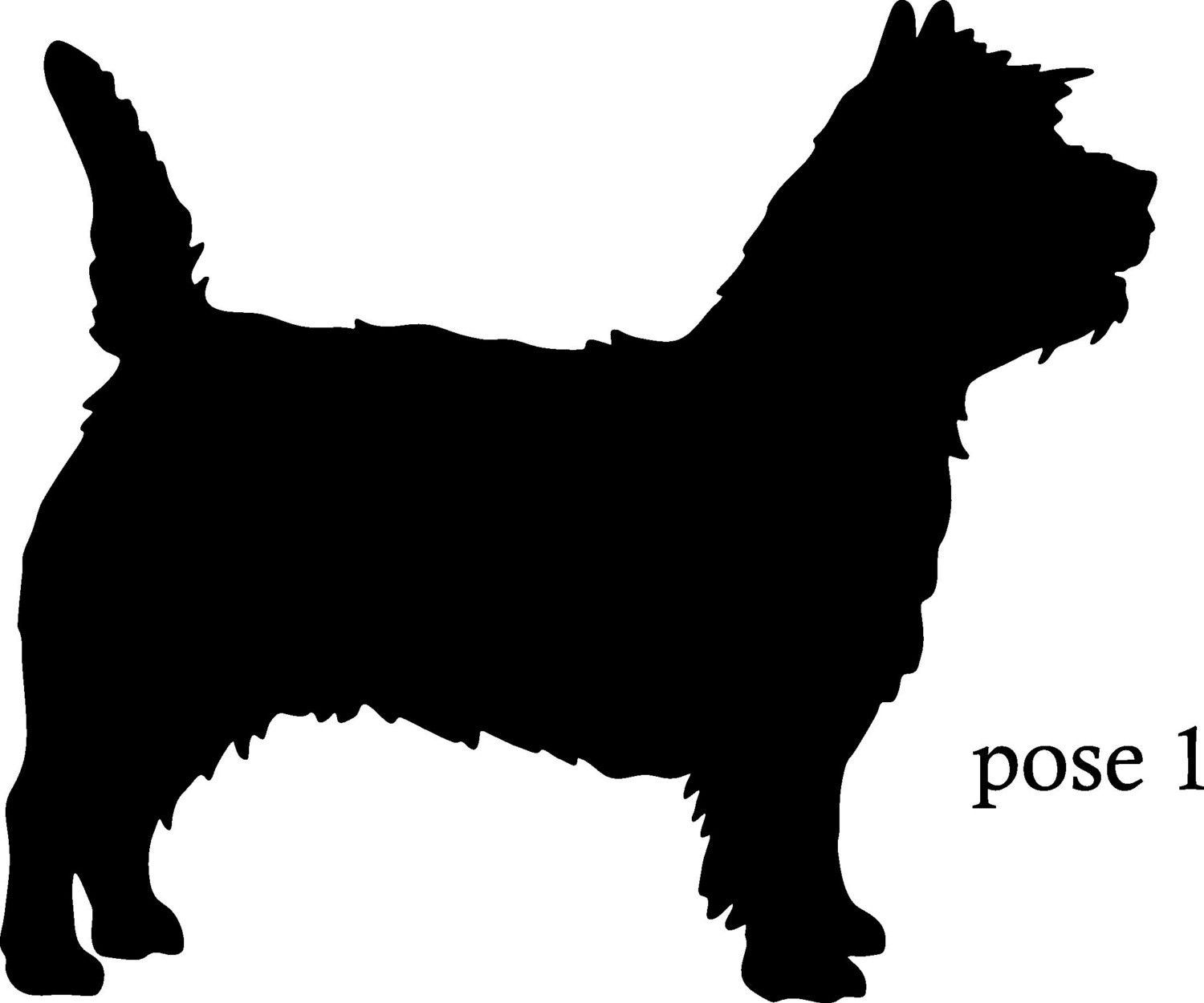 Cairn Terrier Silhouette
