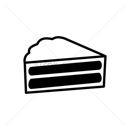 450x450 Free Cake Silhouette Stock Vectors Stockunlimited