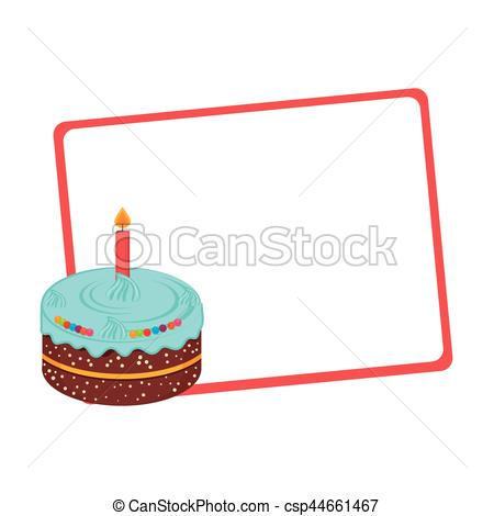 450x470 Silhouette With Gift Card With Cake Vector Illustration Clip Art