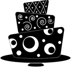 236x221 Cake Clipart Silhouette