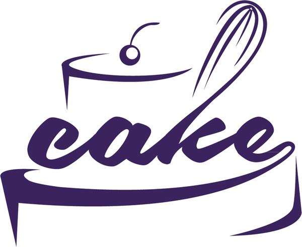 600x491 Cake word within the cake icon Free vector in Encapsulated
