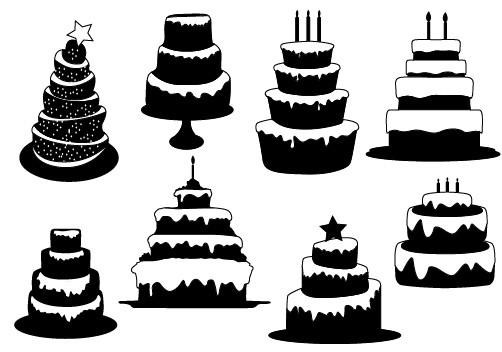 502x352 Christmas Vector Graphics – Silhouettes Vector
