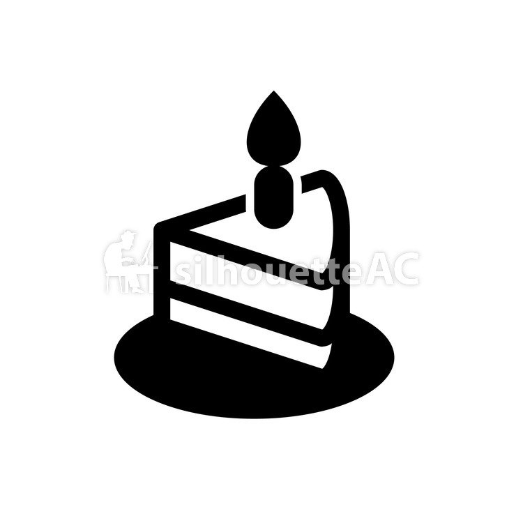 750x750 Free Silhouette Vector Sweets, A candle