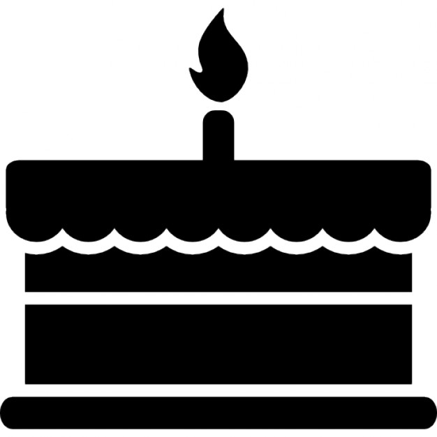 Cake Silhouette Vector at GetDrawings | Free download