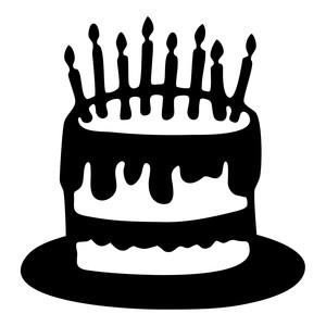 300x300 Cake Silhouette Clip Art – Clip Art.Me