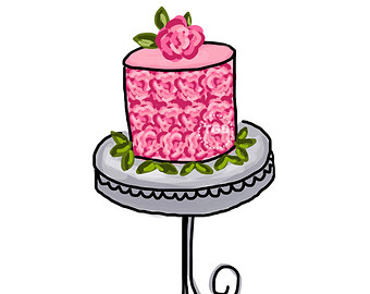 340x270 Cake Stand Clipart ~ Prezup for