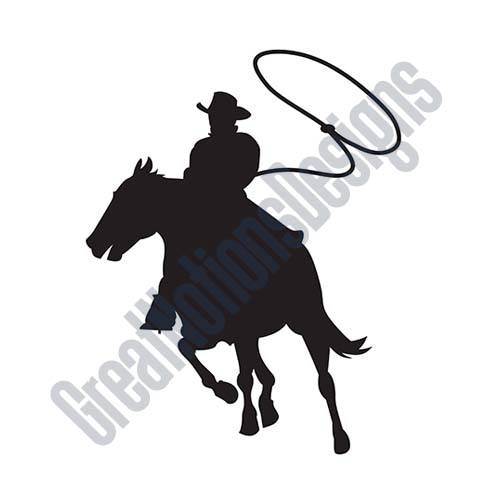 500x500 Cowboy Roping