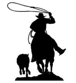 Team Roping Silhouette At Getdrawings Com Free For