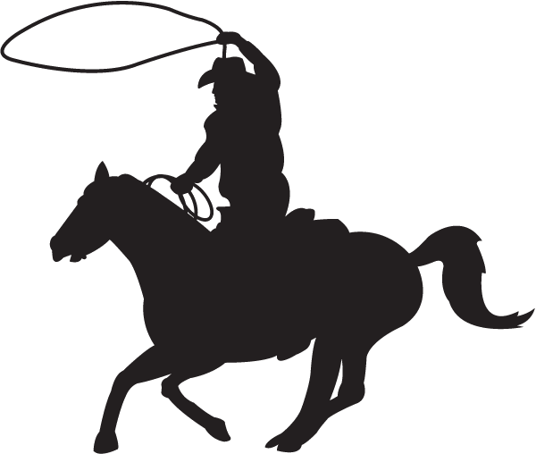 600x508 Roping Decal