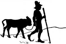 225x150 Farm Animal Silhouettes ~ Karen's Whimsy