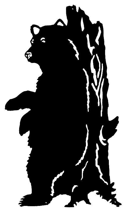 California Bear Silhouette