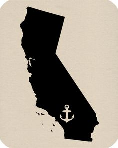 236x295 Printable Map Of California Craft Room Tattoo
