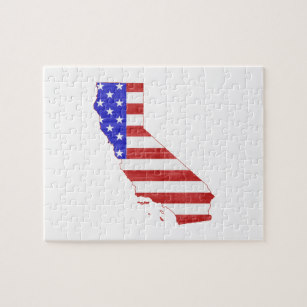 307x307 California State Flag Jigsaw Puzzles Zazzle