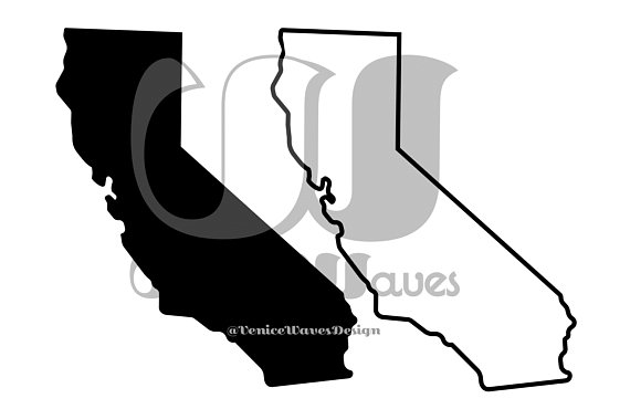 570x370 California Silhouette And Outline Svg Pdf Png Files