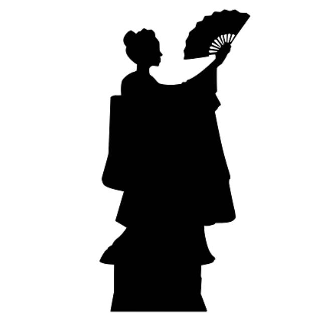 640x640 Silhouette Geisha Hana Rental San Francisco Ca, Rent Silhouette