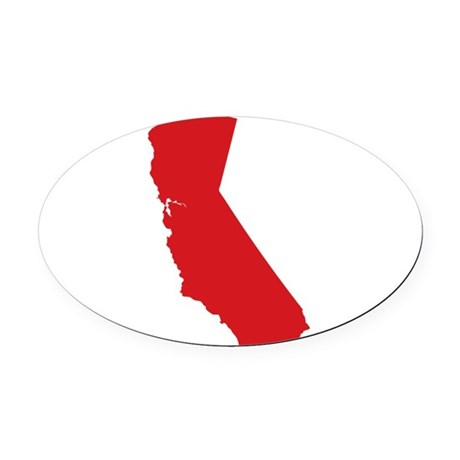 460x460 California State Outline Car Magnets