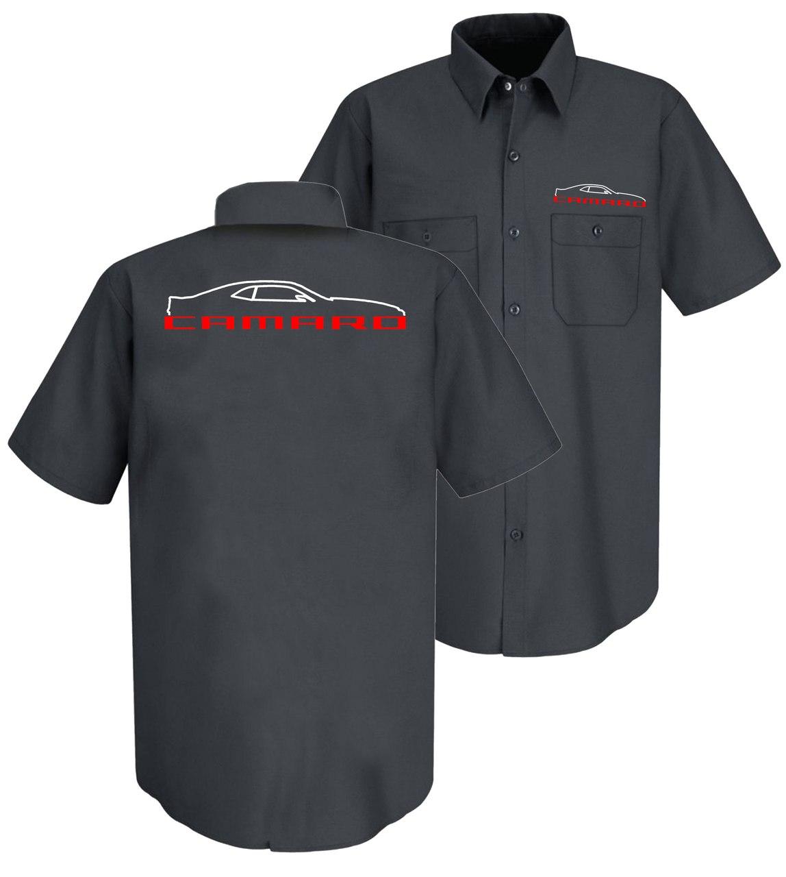 1148x1280 Ms101 5th Gen Camaro Silhouette Mechanic Shirt Small Thru Xl