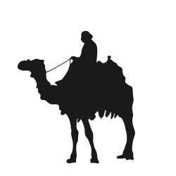 250x250 Camel Silhouette Silhouettes Camels, Silhouettes