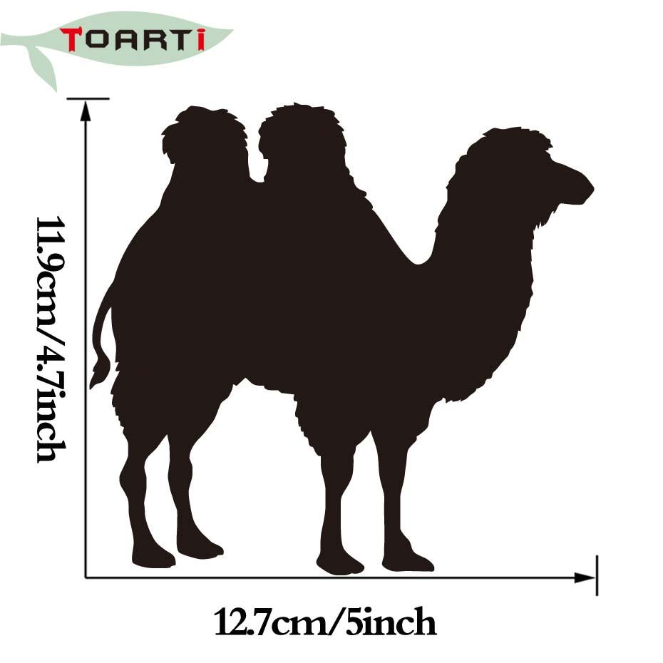 930x930 Standing Camel Silhouette Decals Animal Vinyl Decals Car Truck