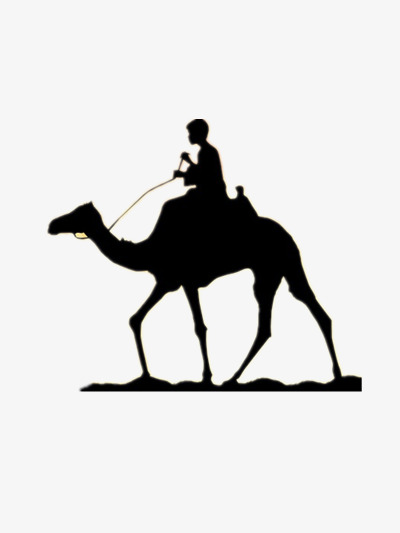 400x533 Camel Silhouette, Animal, Desert, Camel Creative Png Image