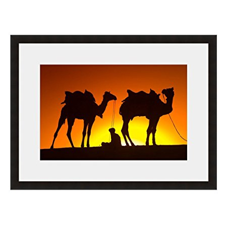 450x450 Eframe Fine Art Camels In Silhouette By Blaine Harrington 16 X
