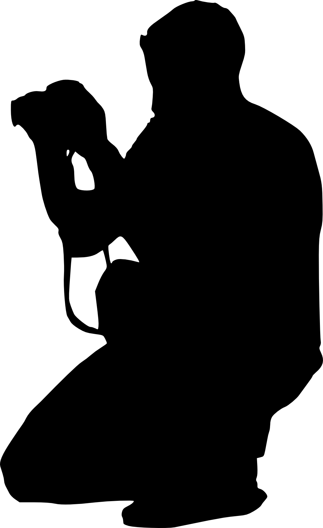 1049x1710 13 Photographer With Camera Silhouette (Png Transparent)