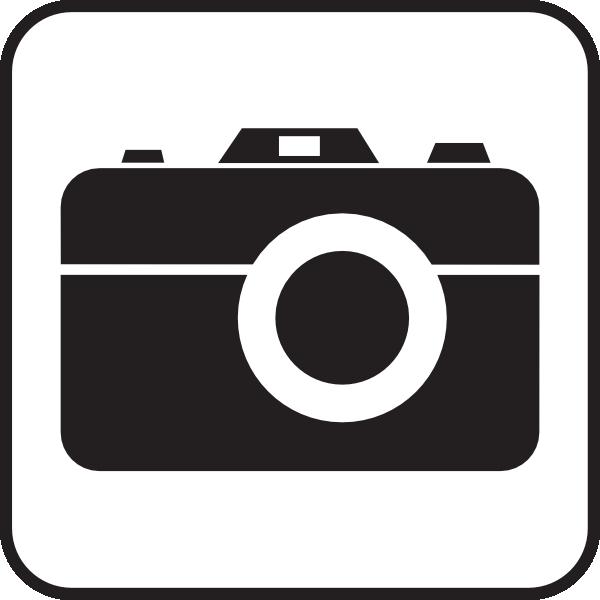 600x600 Camera White Clip Art