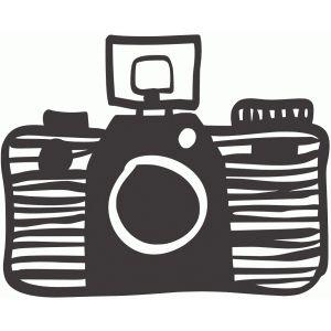 300x300 Camera Silhouette Design, Silhouettes And Cricut